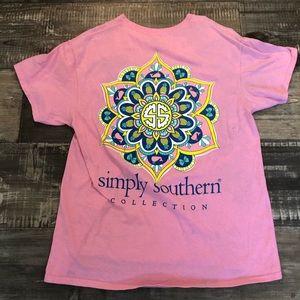 Three simply southern shirts.